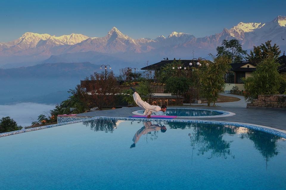 Pokhara au Népal